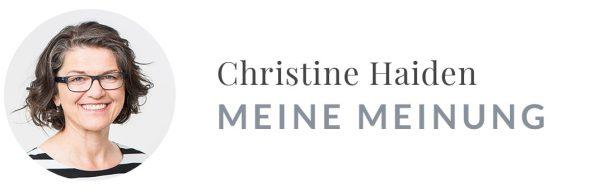 """Kolumne """"Meine Meinung"""""""