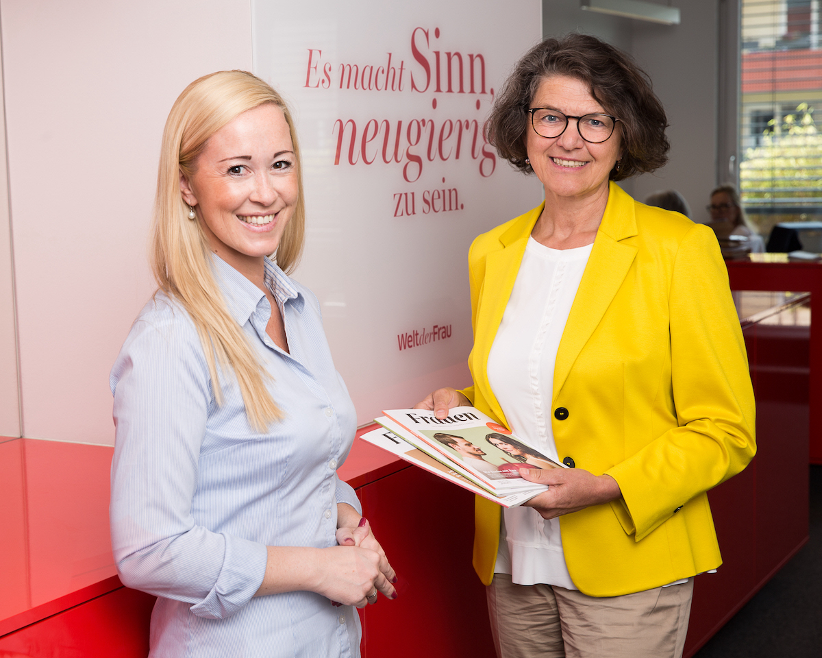 """""""Welt der Frauen"""": Sabine Kronberger neue Chefredakteurin"""