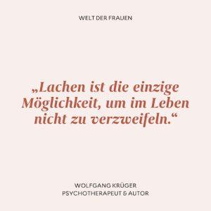 Zitat Wolfgang Krüger