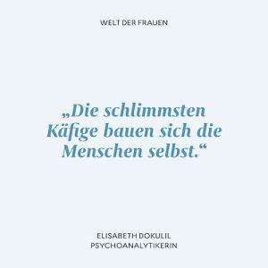Psychoanalytikerin Elisabeth Dokulil