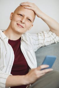 Haarausfall nach Chemotherapie: Glatze