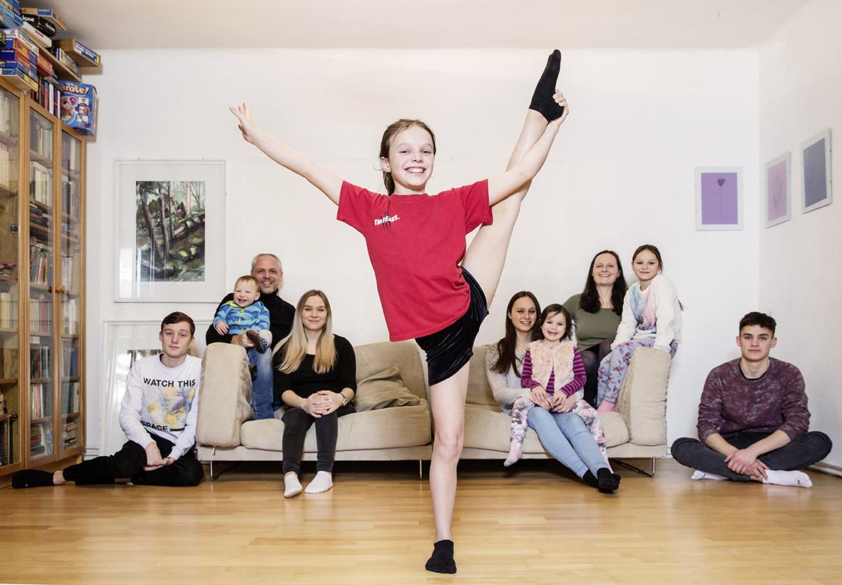 Klara und ihre außergewöhnliche  Familie