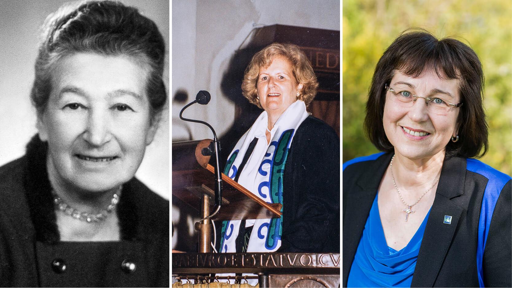Sieben Frauen, 70 bewegende Jahre