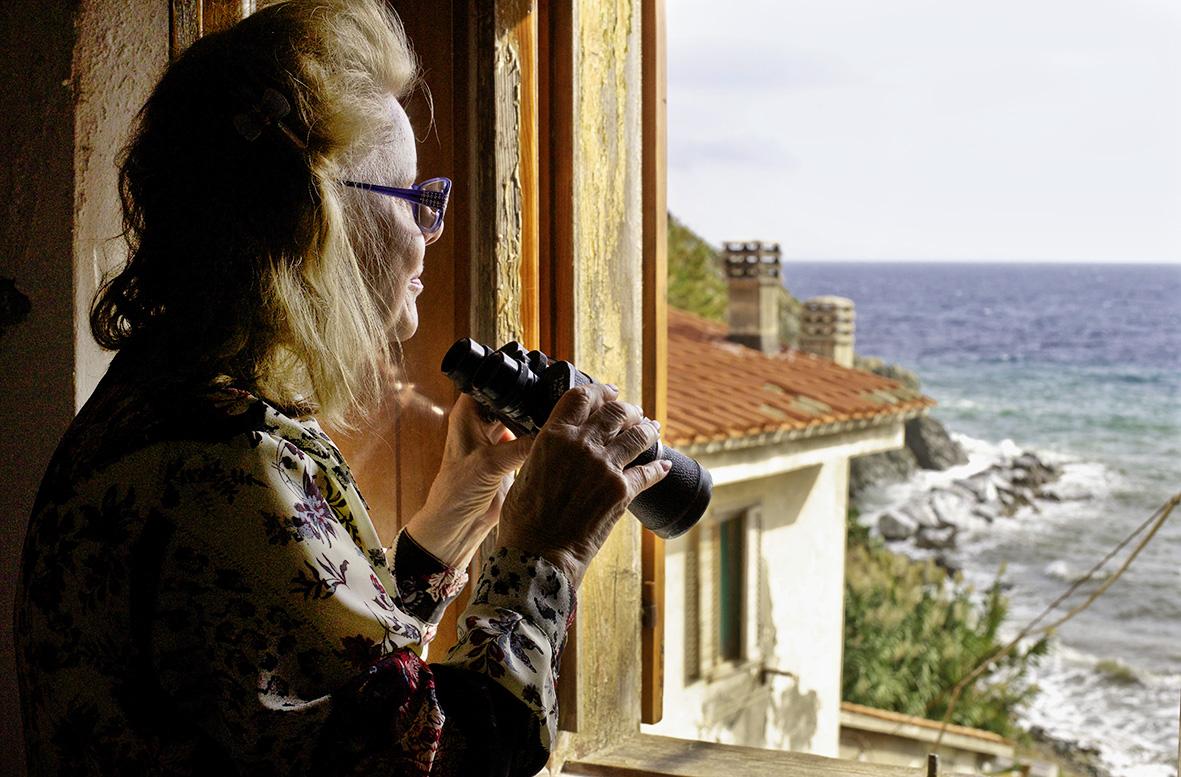 Luisas Fenster zum Meer