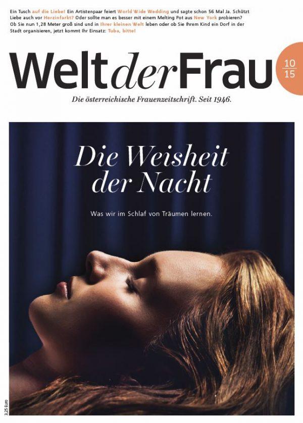 Welt der Frau, die österreichische Frauenzeitschrift, Oktober 2015