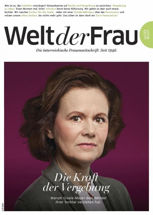 Welt der Frau, die österreichische Frauenzeitschrift, Jänner 2016