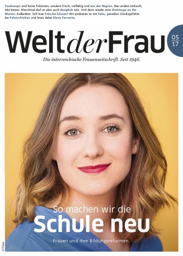 Welt der Frau, die österreichische Frauenzeitschrift, Mai 2017
