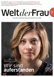 Welt der Frau, die österreichische Frauenzeitschrift, April 2017