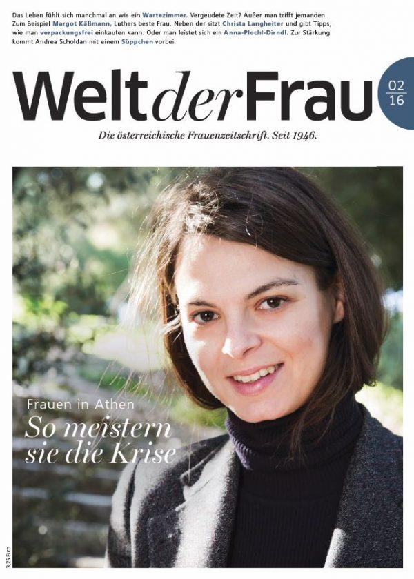 Welt der Frau, die österreichische Frauenzeitschrift, Februar 2016