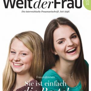 Welt der Frau, die österreichische Frauenzeitschrift, Mai 2016