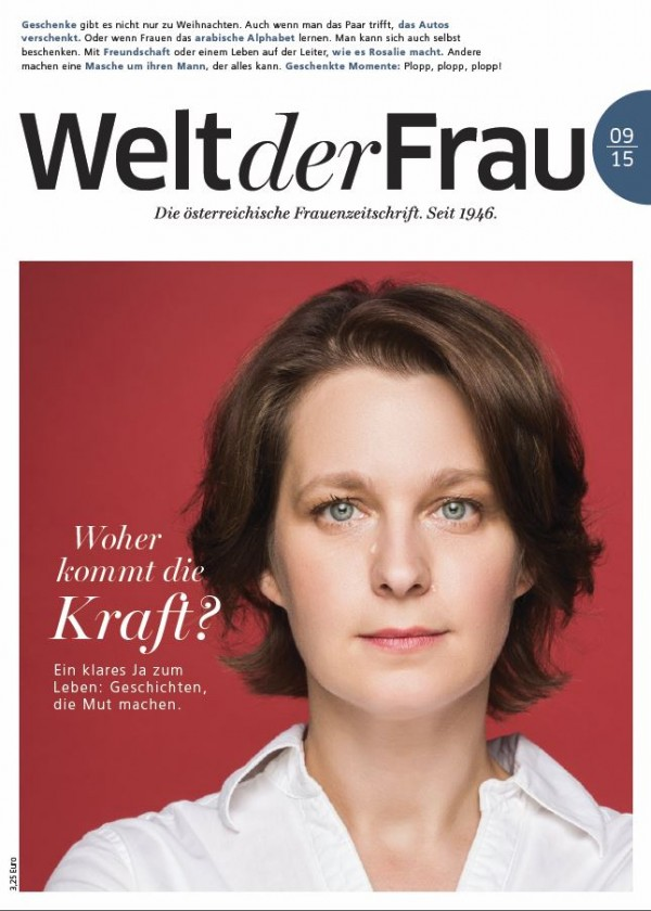 Welt der Frau, die österreichische Frauenzeitschrift, September 2015
