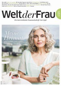 Welt der Frau, die österreichische Frauenzeitschrift, Juli/August 2015