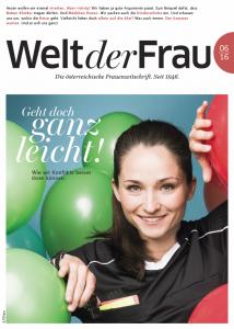 Welt der Frau, die österreichische Frauenzeitschrift, Juni 2016