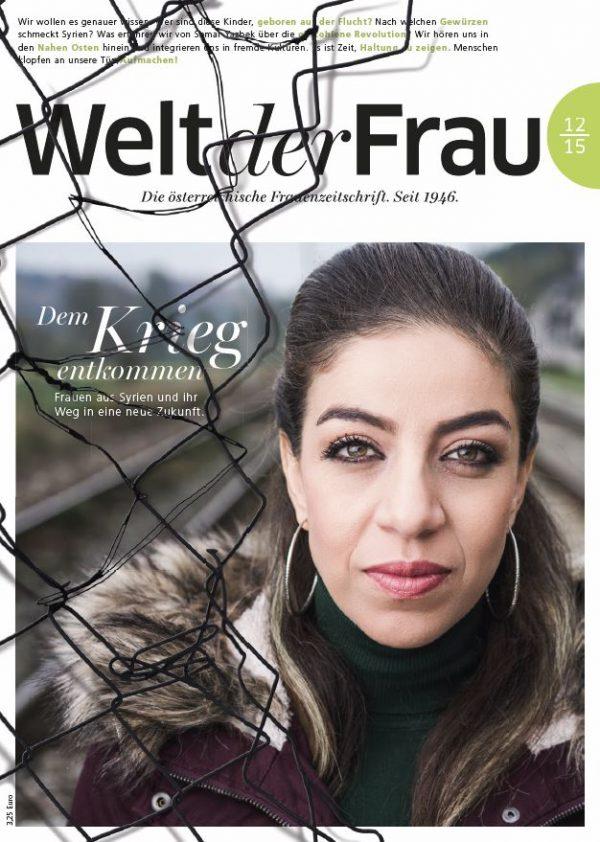Welt der Frau, die österreichische Frauenzeitschrift, Dezember 2015