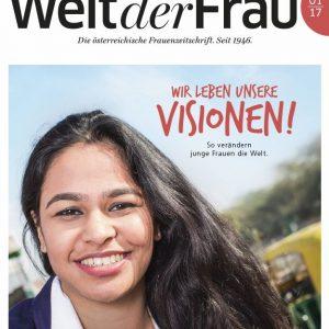 Welt der Frau, die österreichische Frauenzeitschrift, Jänner 2017