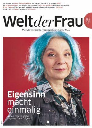 Welt der Frau, die österreichische Frauenzeitschrift, März 2017