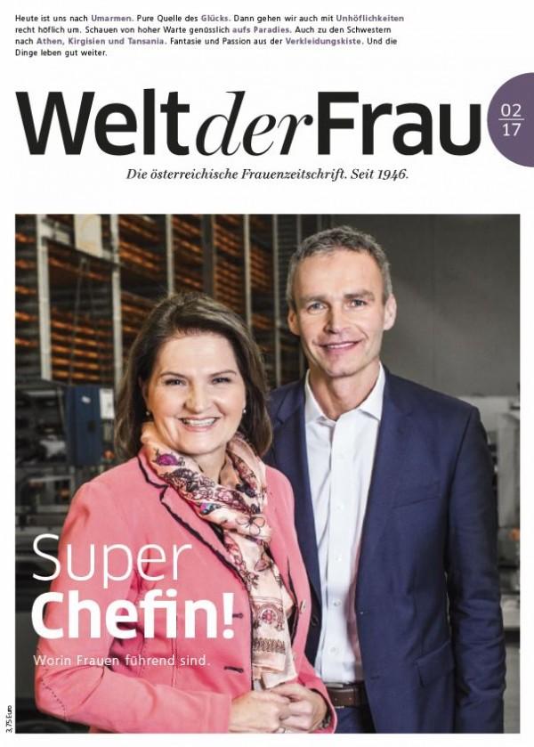 Welt der Frau, die österreichische Frauenzeitschrift, Februar 2017